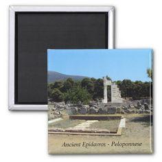 Ancient Epidavros – Peloponnese Fridge Magnet