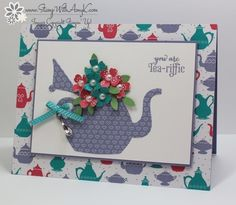 A nice cuppa - Homemade Cards, Rubber Stamp Art, & Paper Crafts - Splitcoaststampers.com