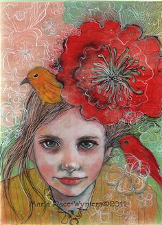 I Believe In You 5x7 Fine Art Reproduction by MariaPaceWynters, $45.00