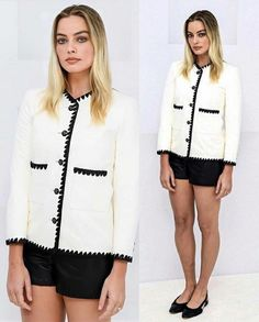 Margot Robbie, Adidas Jacket, Coat, Jackets, Clothes, Shoes, Fashion, Down Jackets, Outfits