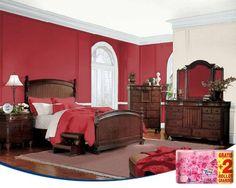 El rojo es un color que aporta energía a tu habitación. No obstante, hay que usarlo en espacios grandes y combinarlo con el blanco en la decoración para suavizarlo.
