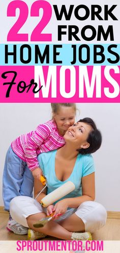 22 side hustles for stay at home moms. You can easily make $100 daily with these online jobs for moms. #stayathomemoms #stayathomemomjobs #workathomemoms #workfromhomemoms #workfromhomemomjobs #onlinejobs #makemoneyfromhome #makemoneyonline #moms #mums #onlinejobsformoms