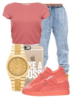 """."" by ray-royals ❤ liked on Polyvore featuring Miss Selfridge, Casetify and Michael Kors"