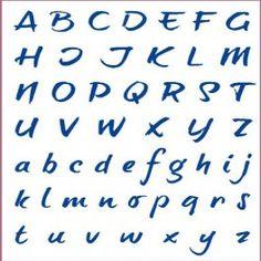 Plantillas con tipos de letras, lunares, rayas, puntos, corazones,etc.