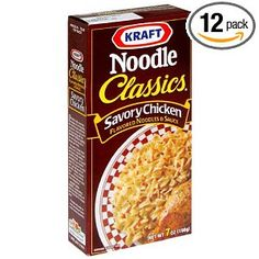 KRAFT Bring back this please.  I found a substitute recipe!   In a medium sauce pan, mix:   1 Tablespoon of chicken boullion,   about 1 cup water,   1 tablespoon of minced carrot,   1 teaspoon minced celery,   2 tablespoons of corn starch,   2 tablespoon of butter or margarine,    let simmer until thick (like the real stuff!)     Cook about 1 cup of egg noodles and mix with the sauce!