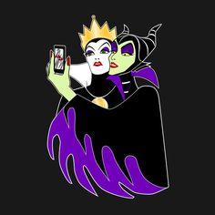 #selfie #disney #villains