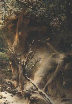 silenceforthesoul:  Witold Pruszkowski (1846-1896) - Printemps, 1887