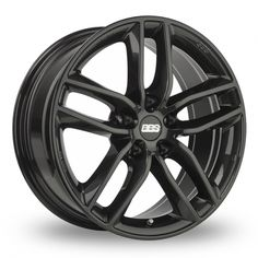 Picture of 17 Inch BBS SX Black Alloy Wheels