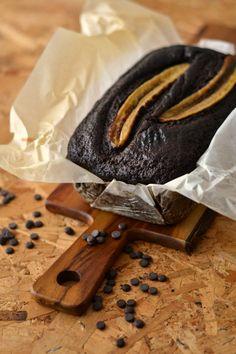 Sweet Gula: Pão de Banana e Chocolate com Pepitas de Cacau