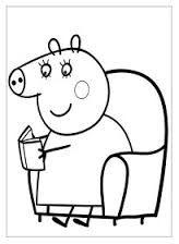 Resultado de imagen de dibujos de peppa pig