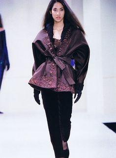 Kimora, Trussardi Show, A/W 1992.