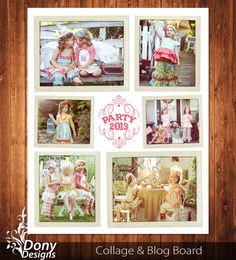 BUY 1 GET 1 FREE Blog Board & 16x20 Collage by DonyDesigns on Etsy, $5.00