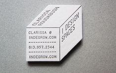 Michael Pangilinan, Clarissa Roudabush in Branding/Logos Name Card Design, Bussiness Card, Design Poster, Unique Business Cards, Business Names, Calling Cards, Grafik Design, Name Cards, Graphic Design Typography