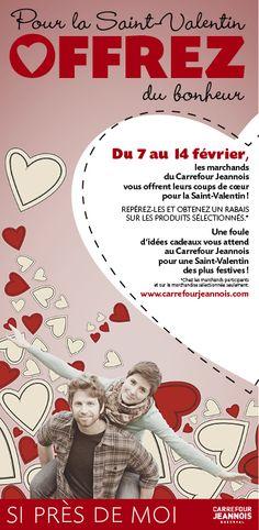 Publicité journal Carrefour Jeannois