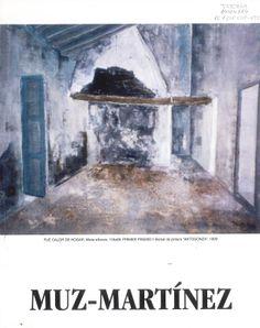 """Muz-Martínez"" (Juan Muñoz Martínez) expone en Caja Castilla-La Mancha Marzo 2000 #CajaCastillaMancha #Cuenca #MuzMartinez"