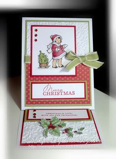Me, My Stamps and I: Contempo Christmas