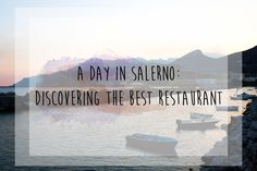 Beginning our Amalfi Coast trip in Salerno, we stumbled upon what would be the best restaurant of our entire trip, which was also the best value for money.
