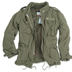 us field jacket m65 << Have something similar...just need to sew some pockets in:)