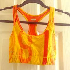 Nike Pro Sports Bra- like new! In like new condition. Bright colors, super cute! Offers welcome! Nike Tops