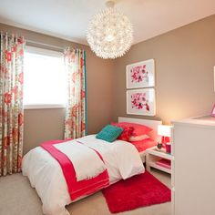 wall color Girls Room Design, Pictures, Remodel, Decor and Ideas - page 5