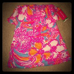 Lilly Pulitzer Wiley Tube Top Size: XS, Style #: 98790 Shorely Blue Feeling Tanked, Brand new with tags! Lilly Pulitzer Tops Tank Tops