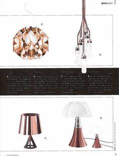 Flora copper January 2015 Licht + Wohnen