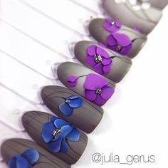 607 отметок «Нравится», 36 комментариев — Julia_Gerus (@julia_gerus) в Instagram: «Расписание Плоскостная Лепка Гелем 4D  Кропивницкий  6- сентября  Италия  Неаполь…»