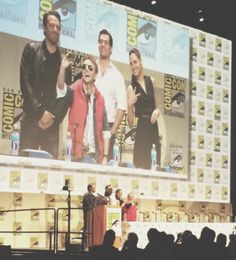 Even Superman, Batman, Wonder Woman, and Marty McFly take selfies! Click through for the actual panel Q&A!