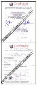Attestation of Documents - Cambridge International College
