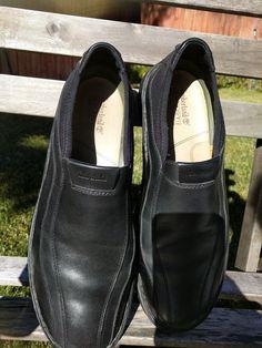 06c79007f2 TIMBERLAND Smart Comfort System Mens Sz 12M Black Genuine Leather Slip On  Shoes #fashion #