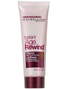 Base (primer): Thanks to Maybelline New York Instant Age Rewind Primer Skin Transformer, there are two kinds of people in the world: professionally airbrushed models and those of us who just look like them