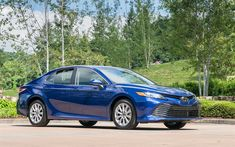 Download wallpapers Toyota Camry, sedans, 2018 cars, new camry, japanese cars, Toyota