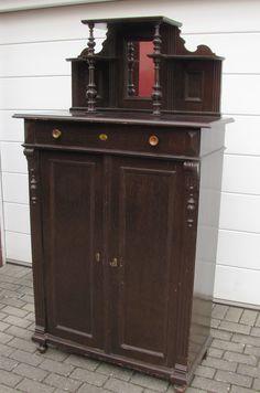 Vintage Möbel - Gründerzeit Vertiko Kommode Anrichte shabby chic - ein…