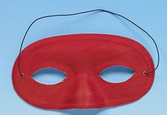 Red Mask Add a bit of glamour to your fancy dress or masquerade costume with this fantastic red mask. Elegant Masquerade Mask, Red Mask, Masquerade Costumes, Eye Masks, My Favorite Color, Fancy Dress, Scarlet, Burgundy, Glamour