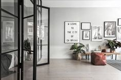 Minimal and Cozy flat in Stockholm - Yet another beautiful, minimal and cozy flat situated in Stockholm, Sweden. The apartment was in Designed in 2016 by Swedish studio Scandinavian Homes. Rue Verte, Ikea, Loft, Interior Decorating, Interior Design, Living Styles, Scandinavian Home, Home And Deco, Minimalist Home
