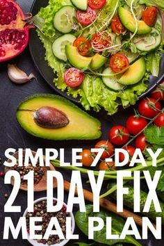 21 Day Fix Meal Plan for Beginners | Get started with the 21 Day Fix Diet TODAY with this comprehensive guide, which includes the foods you can and cannot eat, food prep basics, and a simple 7-day meal plan with easy recipes to make week 1 a success! We have easy-to-make breakfast, lunch, dinner, and snack recipes you'll love, and with the aide of your 21 Day Fix containers, losing weight will never taste so good!...