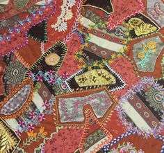 Good Earth Quilting: Crazy Quilting