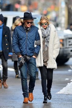 Busy girl: Gigi has been busy with her New York Fashion Week commitments but has managed to find time to spend with Cody