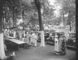 Fontaine Ferry Park, Louisville, Kentucky, used car display, 1935.