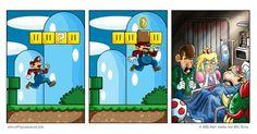 Mario en la vida real