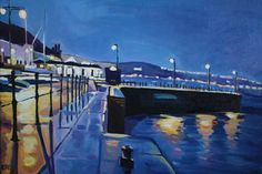 Night Light Falls on Mumbles by Emma Cownie