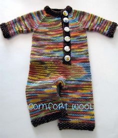 I need another baby just so I can knit this.
