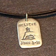 God Tag - Believe – ChristianGiftsPlace.com Online Store