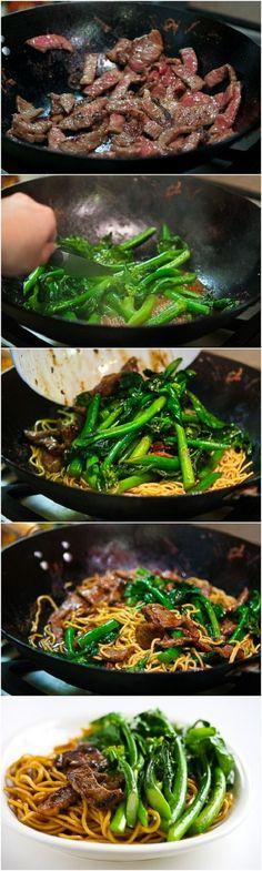 Broccoli Beef Noodle