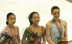 Mao Asada, Yuna Kim & Emily Hugh Photo by lynnanderson | Photobucket