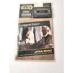 Disney Star Wars Un Nouvel Espoir Cassette Book 1992 New Hope Audiobook Francais Cassette, Plastic Packaging, France, Disney Star Wars, Photos Du, Film, Audio Books, Sewing Patterns, Handmade Items