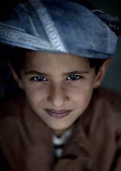 A Bedouin child by Eric Lafforgue.