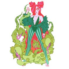 Poison Ivy Character, Character Art, Different Drawing Styles, Sci Fi Horror, Cute Art Styles, Batman Universe, Batman Art, Cute Characters, Comic Artist