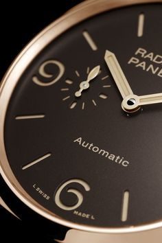 RADIOMIR 1940 3 DAYS AUTOMATIC ORO ROSSO  45 MM - PAM00573