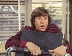 """Davy Jones as the """"Pop Artist"""" in The Monkees episode """"Get Out More Dirt""""."""